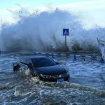 Tifón In- Fa golpea las costas de China